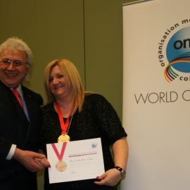 OMC WORLD ACHIEVEMENT GOLD MEDAL PARIS 2010 mohh IMG_8943