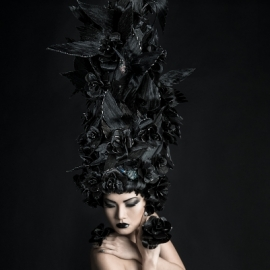 Hair: Kris Slakters | Make-up: Alise Slakters | Model: Piyanuch Cahnphet | Photography: Edina Valentova | Dublin 2105