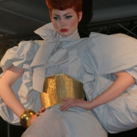 model carolann mcguirk ireland presentation in Paris