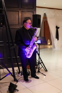 Bob Batty on Saxophone