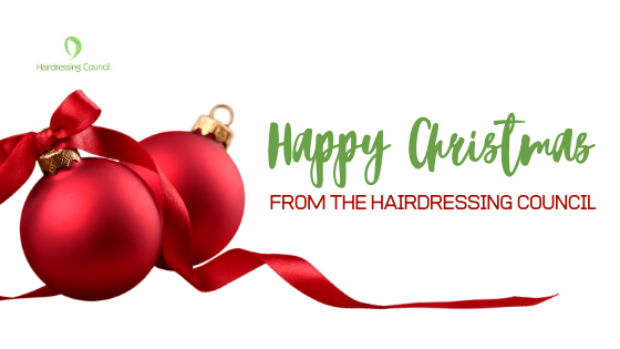 Happy Christmas from the Hairdressing Council